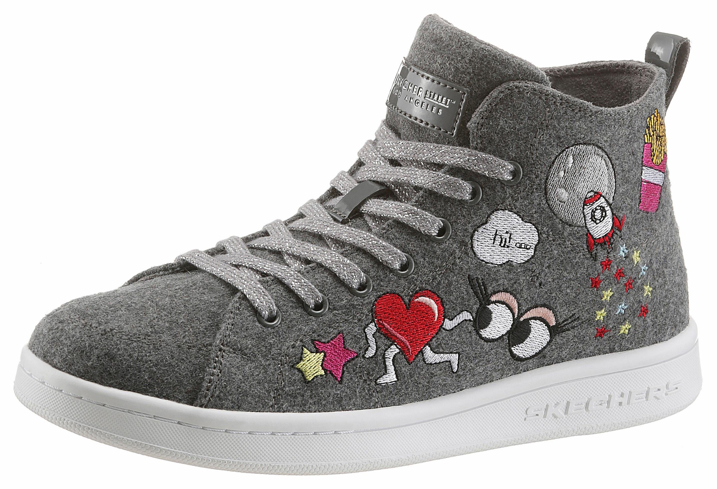 Skechers Omne-SO LA Sneaker, mit Memory Foam  grau-bunt