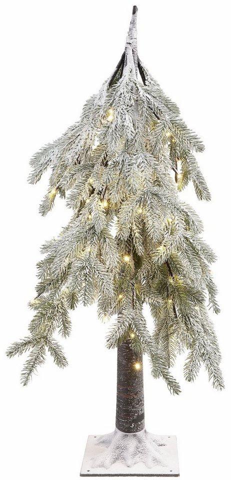 Weihnachtsbaum Schneit.Led Baum Leicht Beschneit Höhe 100 Cm Online Kaufen Otto