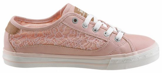 Mustang Shoes Sneaker, With Summer Blossoms Application