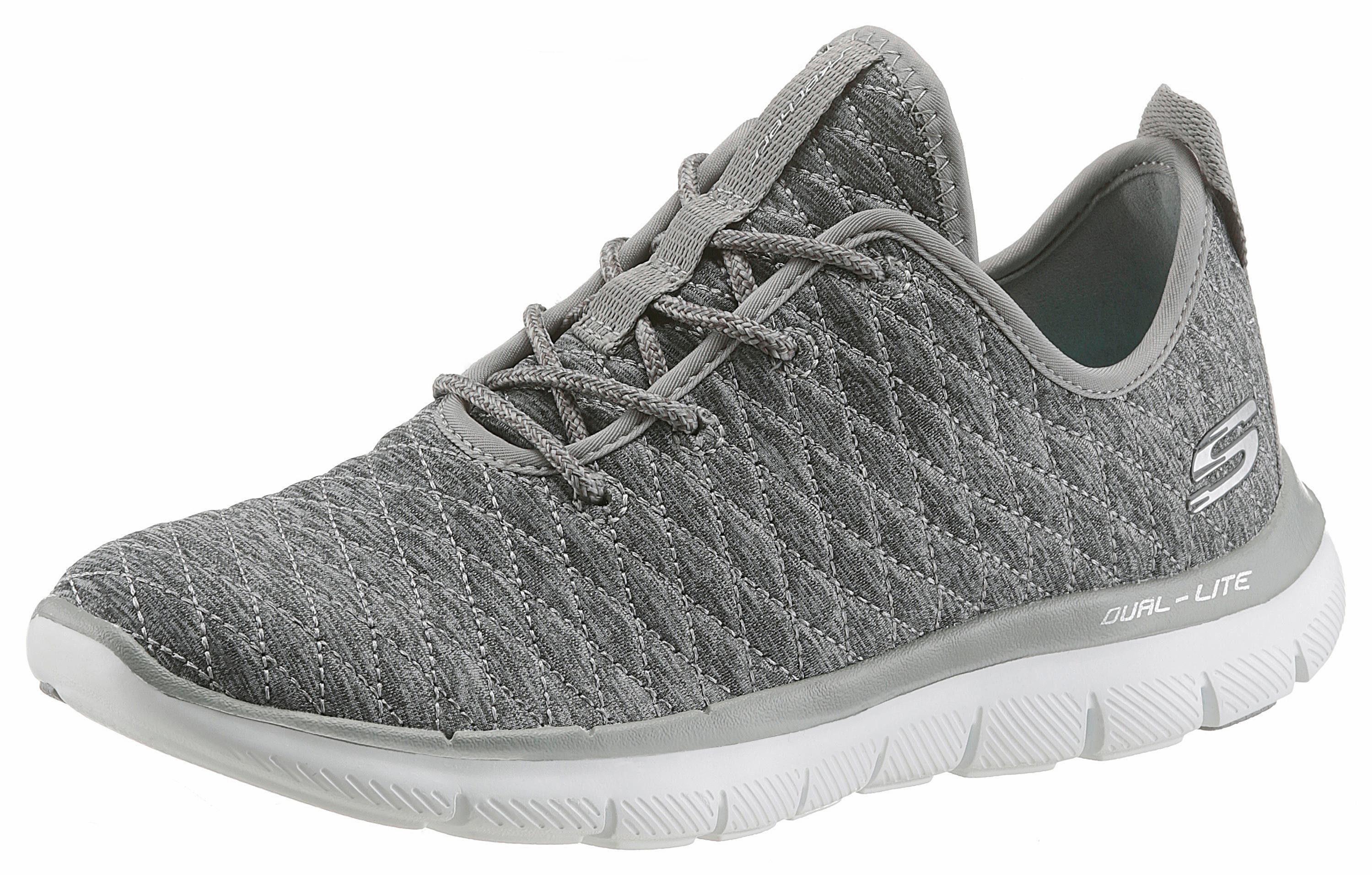 Skechers Flex Appeal 20-First Impressions Sneaker, mit Memory Foam online kaufen  grau-meliert