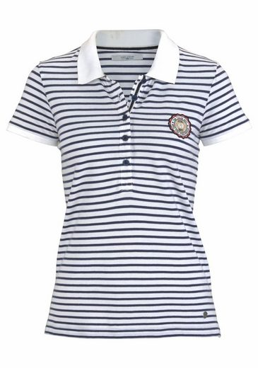 Tom Tailor Polo Team Polo Shirt, Beautifully Striped Cotton-quality