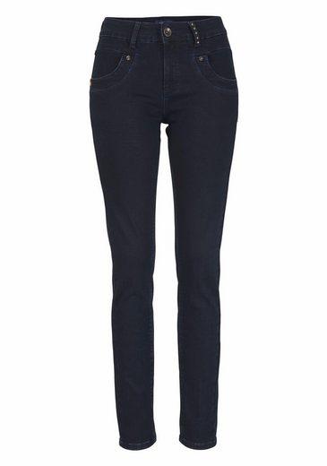 CLAIRE WOMAN Slim-fit-Jeans, High-Performance-Stretch-Denim