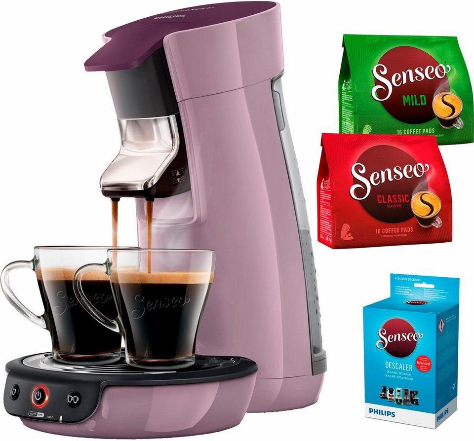 senseo kaffeepadmaschine senseo viva caf hd7829 40 inkl. Black Bedroom Furniture Sets. Home Design Ideas