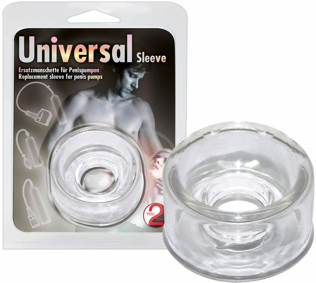 You2Toys Ersatzmanschette für Pumpen Universal Sleeve, Passt für viele Pumpen
