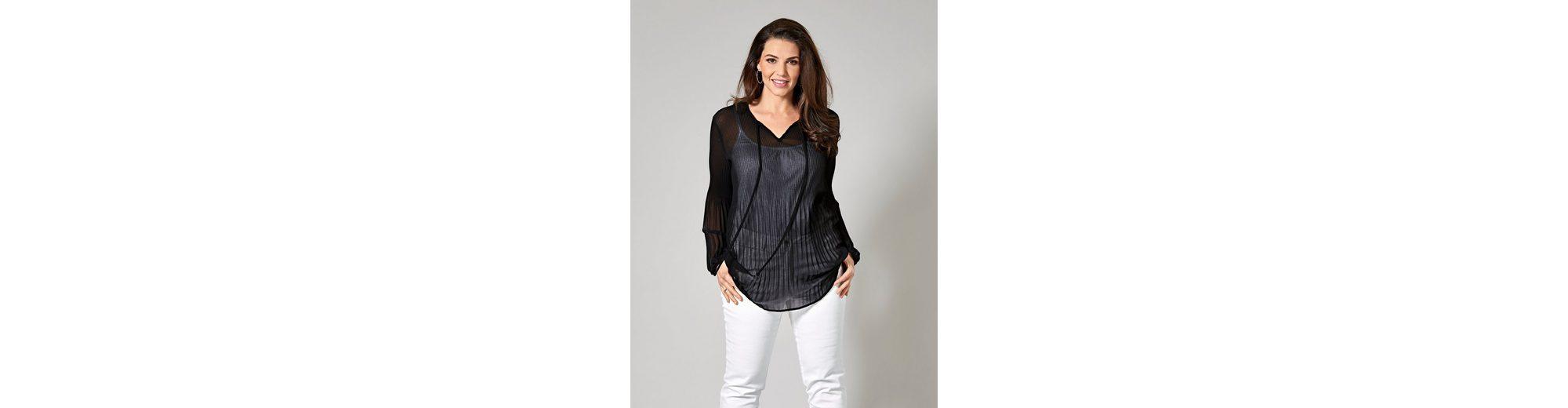 Sara Lindholm by Happy Size Tunika plissiert Verkauf Viele Arten Von Online-Shopping-Original Auslass Wiki Auslass Verkauf klt6ql28