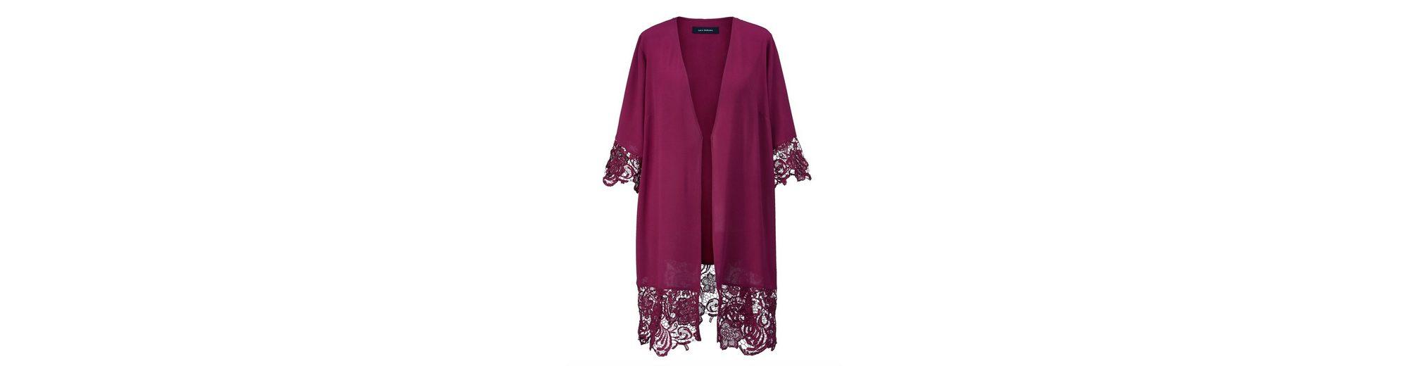 Verkauf Mit Mastercard Sara Lindholm by Happy Size Kimono mit Spitze Günstig Kaufen Am Besten Spielraum Ansicht 8OfLyOHOB