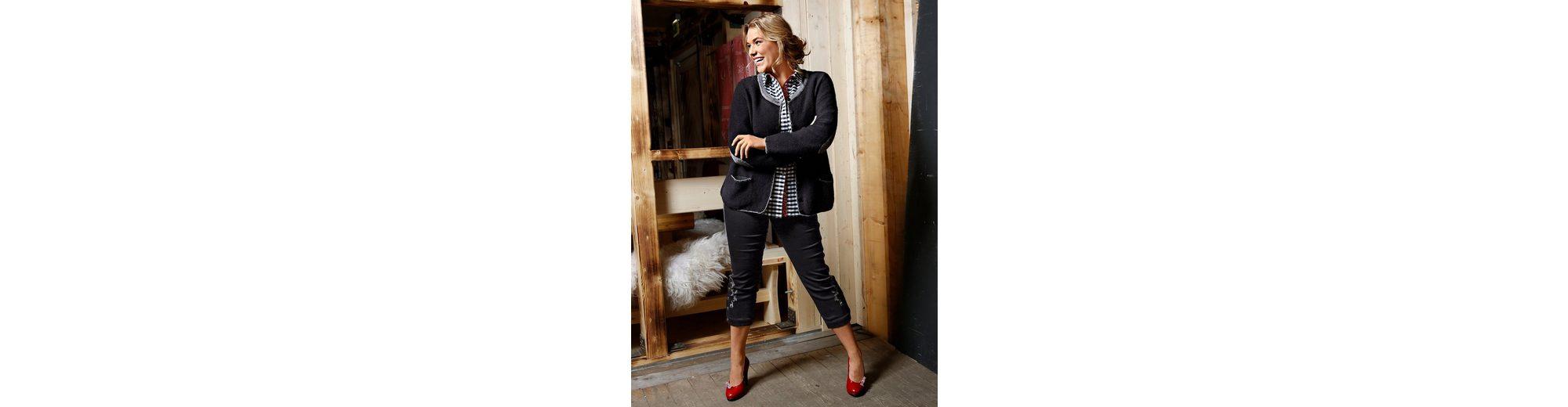Janet und Joyce by Happy Size 7/8 Hose im Trachten-Look Kaufen Preiswerte Qualität Erhalten Authentisch 9UmUl