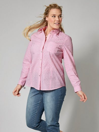 Janet And Joyce By Happy-size Seek Blouse Checkered
