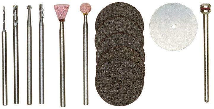 PROXXON Werkzeugkoffer »Werkzeugsatz für Modellbauer«, (13-tlg)