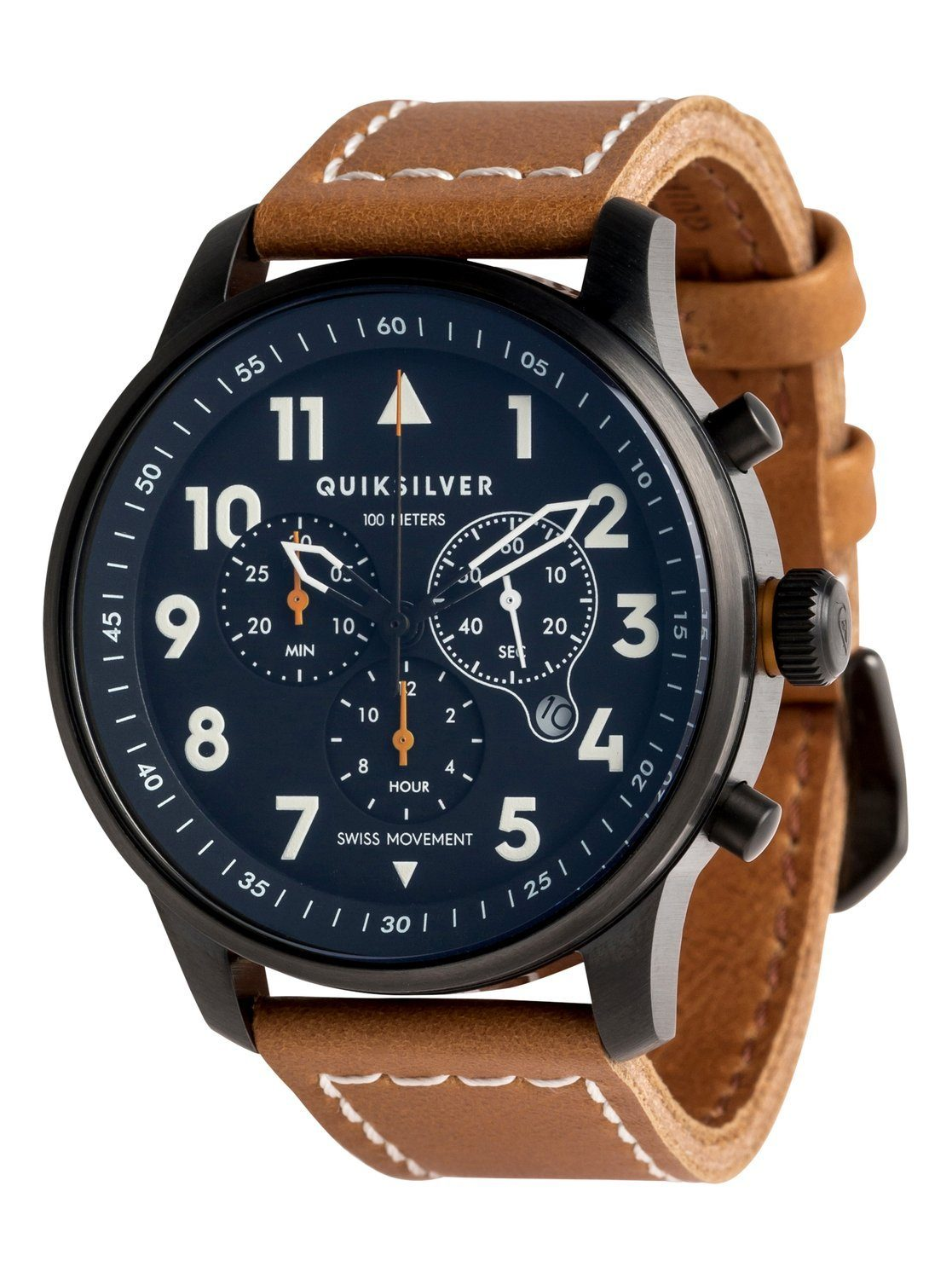 Quiksilver Analoge Uhr »Seafire Leather«