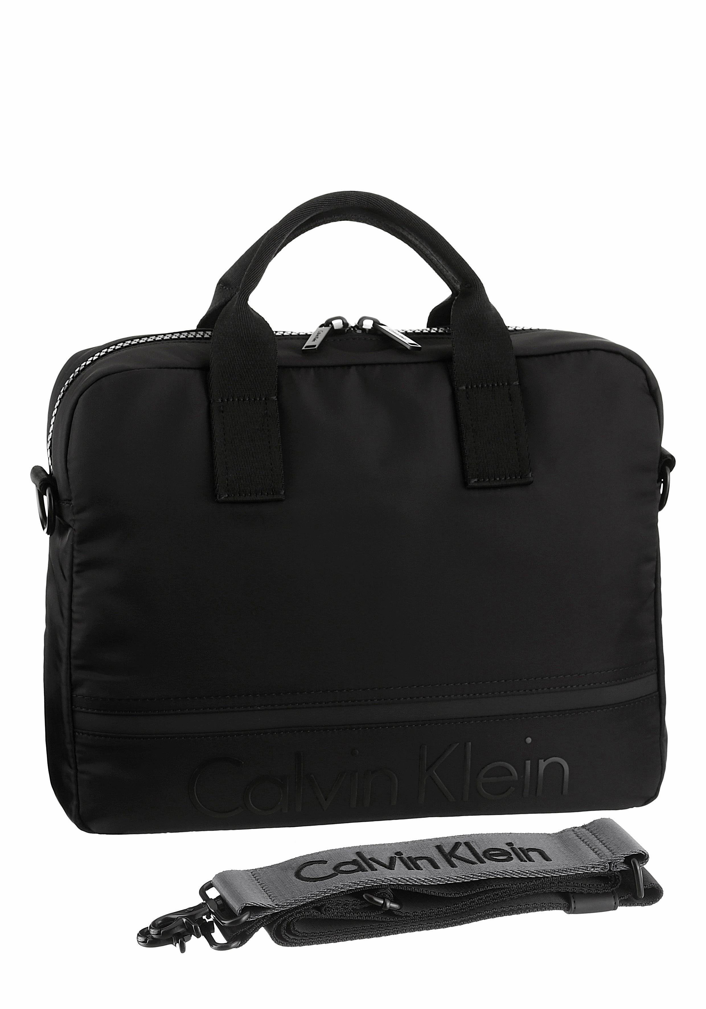 Calvin Klein Messenger Bag »MATTHEW LAPTOP BAG«, mit gepolstertem Laptopfach