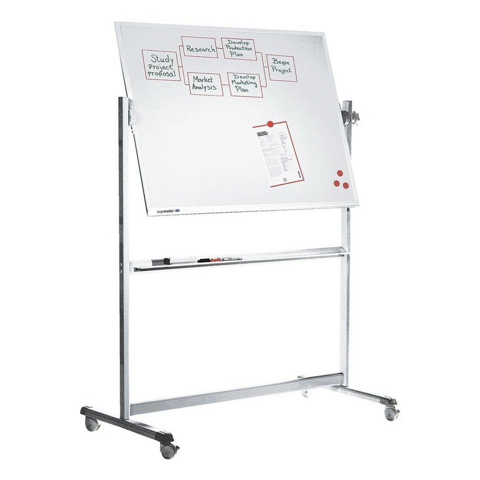 legamaster whiteboard 7 100454 emailliert 120 x 90 cm. Black Bedroom Furniture Sets. Home Design Ideas