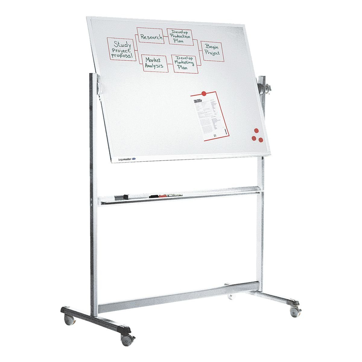 LEGAMASTER Whiteboard 7-100454 emailliert, 120 x 90 cm »Professional«