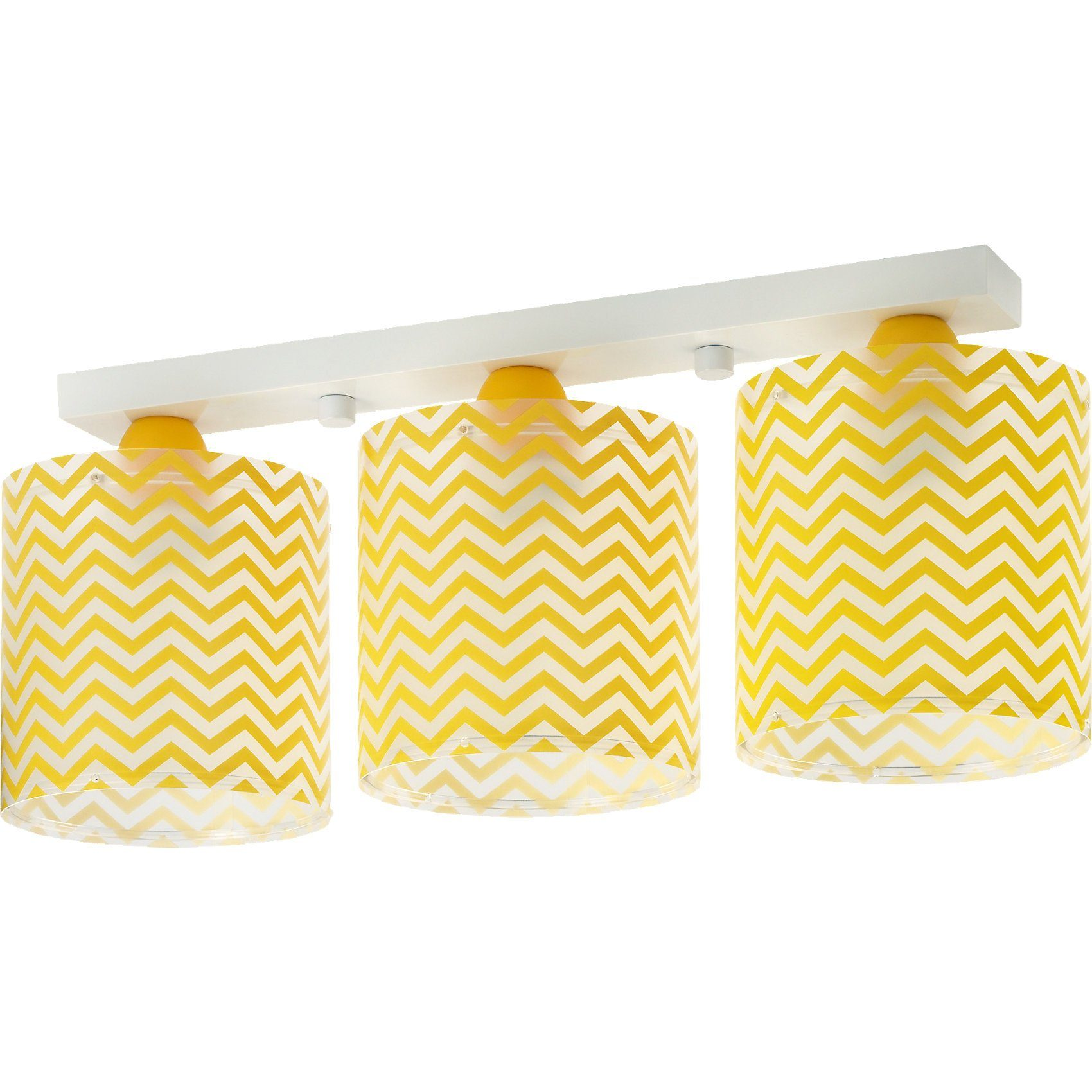 Dalber Deckenlampe Zickzack, gelb