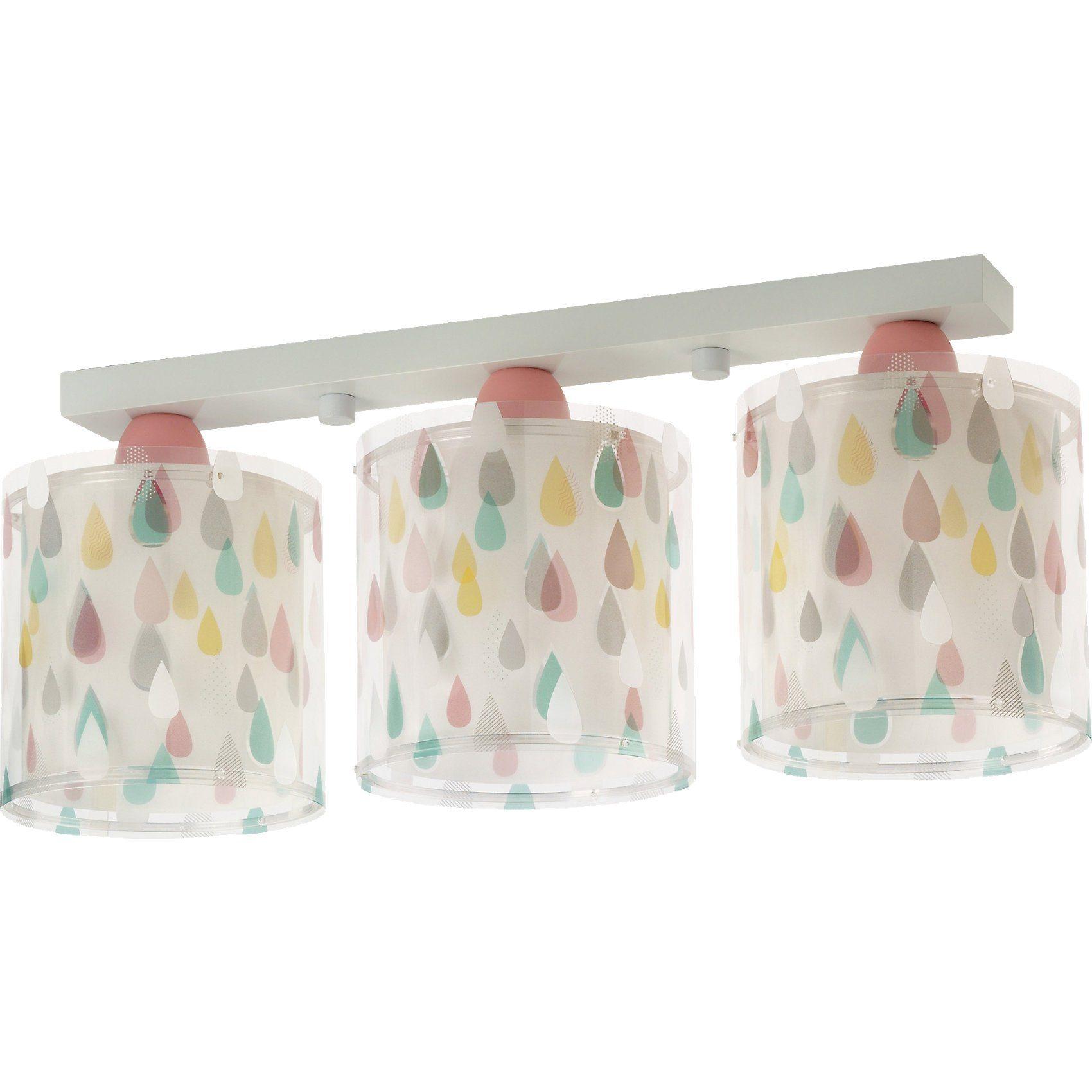 Dalber Deckenlampe Regentropfen, pastellfarben