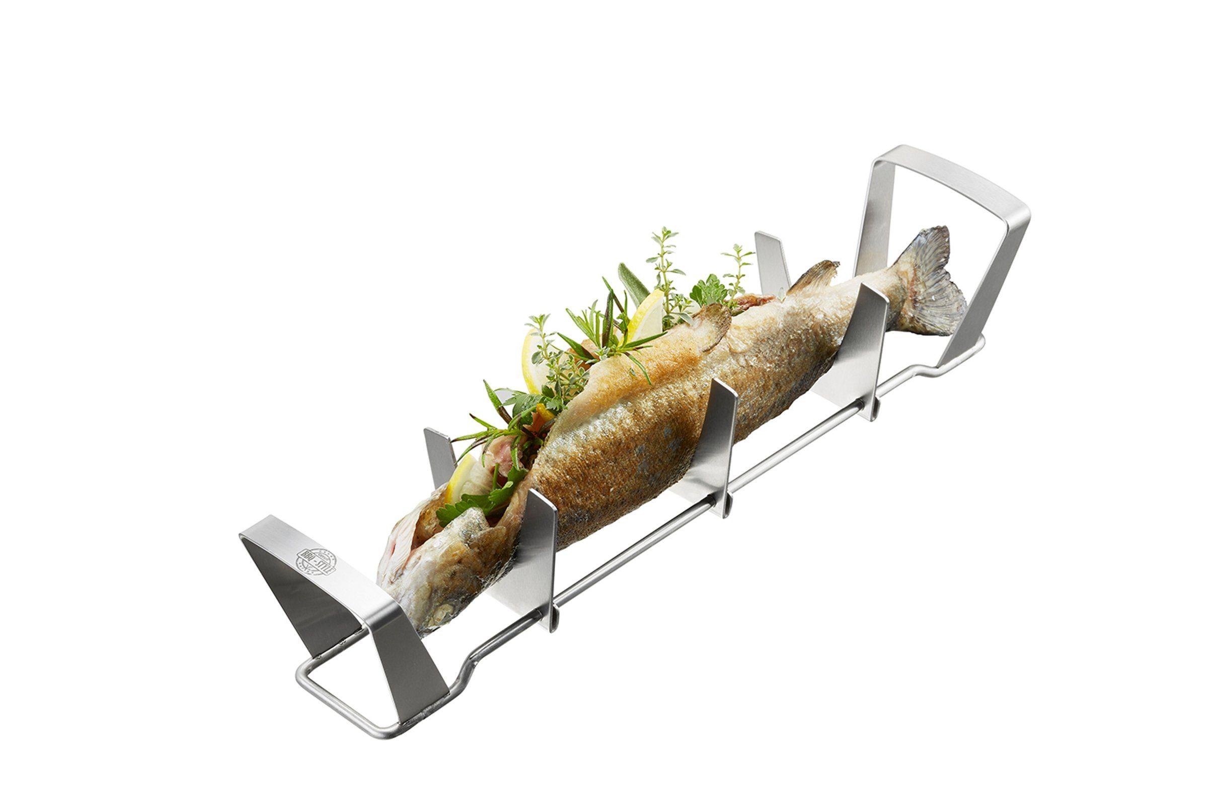 Gefu Fischhalter »BBQ«