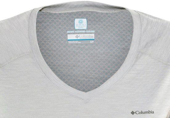 Columbia T-Shirt Zero Rules Short Sleeved Shirt Women grey heather
