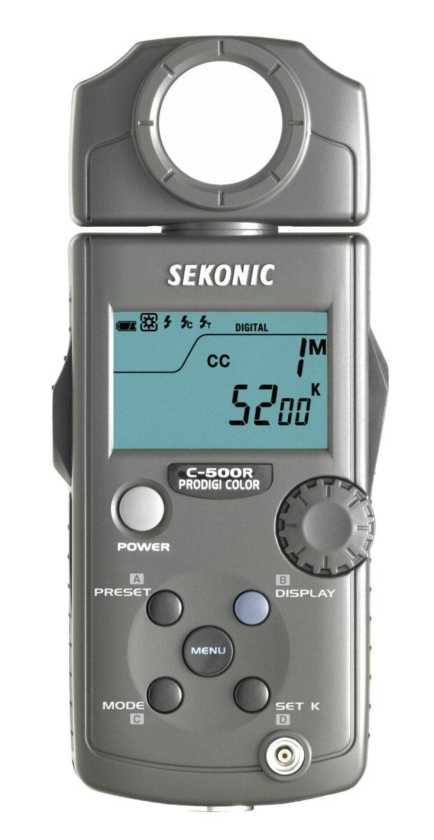 Sekonic Foto Equipment »C-500 R Prodigi Color inkl. RT-32 Modul und Tasche«