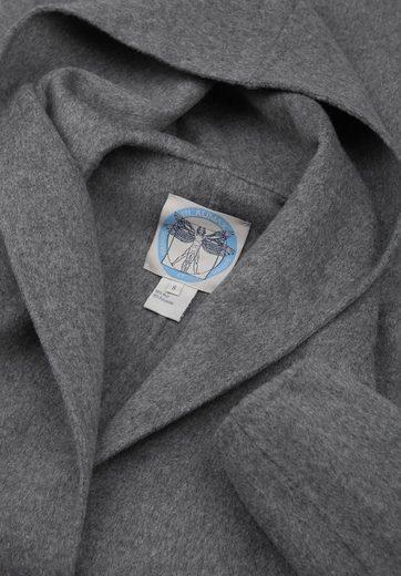 Blaumax Wollmantel ANNETTE, ungefütterter Übergangsmantel aus edlem Woll-Mix