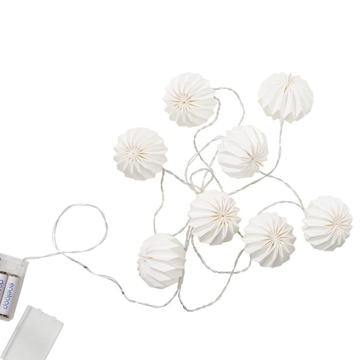 HANAMI »LED-Lampions 8 Lichter«