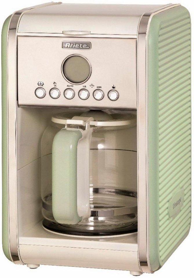 ariete filterkaffeemaschine vintage gr n 1342 1 5l. Black Bedroom Furniture Sets. Home Design Ideas