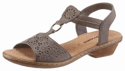 Supremo Sandalette mit Perforation