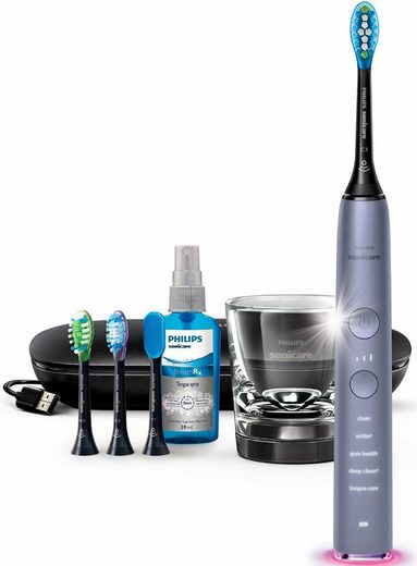 philips sonicare schallzahnb rste hx9924 43 diamondclean smart mit ladeglas und usb. Black Bedroom Furniture Sets. Home Design Ideas