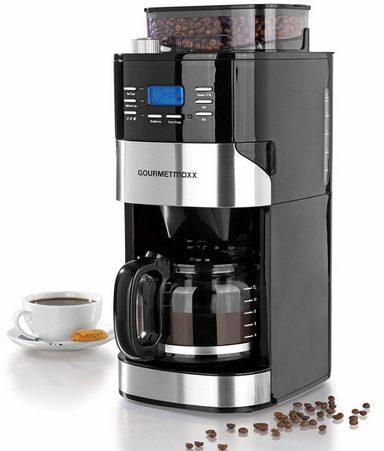 gourmetmaxx kaffeemaschine mit mahlwerk 1897 1 5l kaffeekanne permanentfilter online kaufen otto
