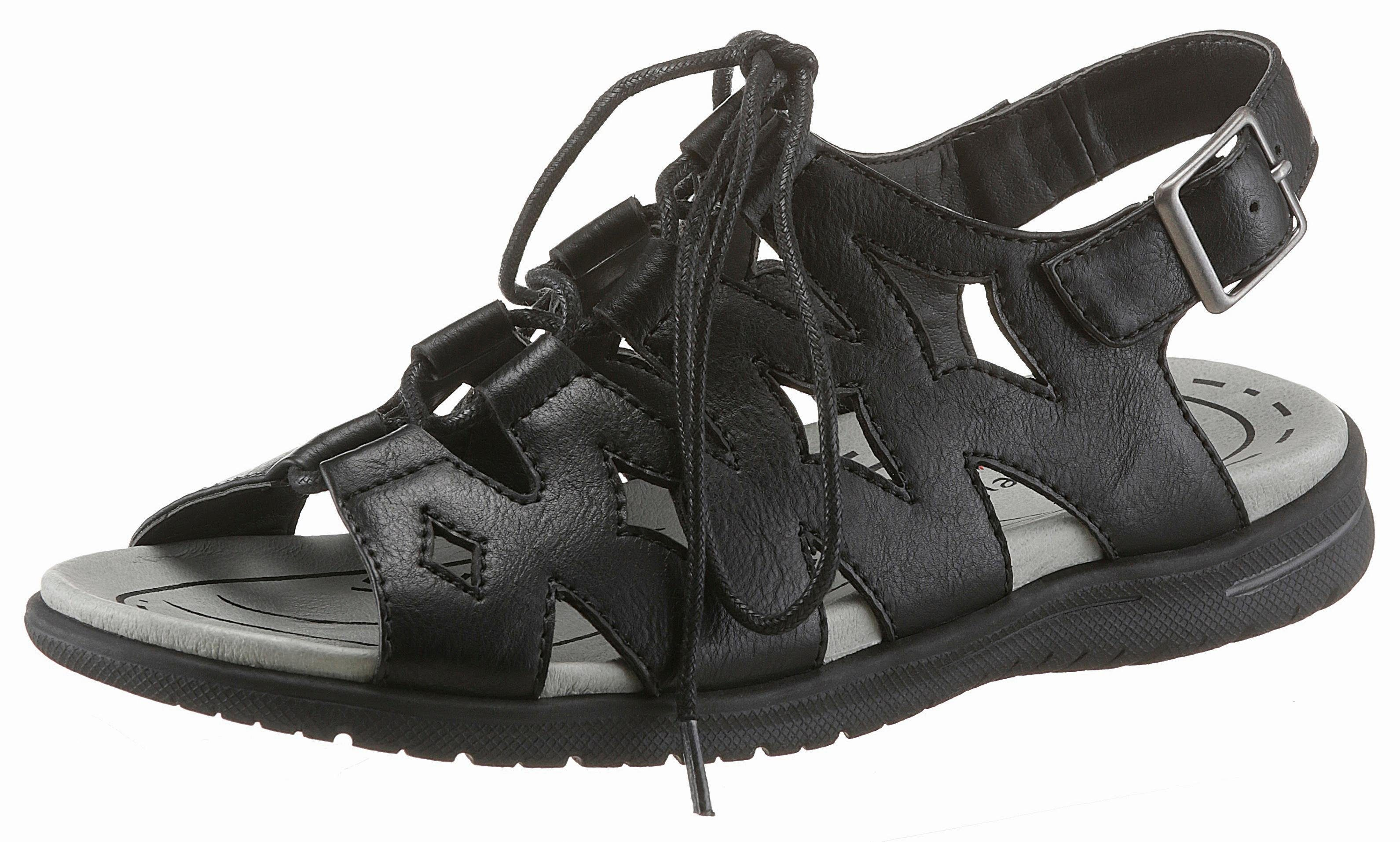 Supremo Römersandale, mit Schnürung, in bequemer Schuhweite G online kaufen  schwarz