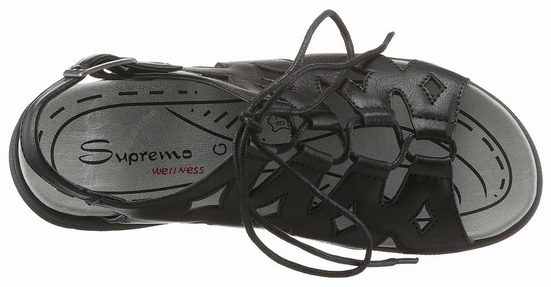 G In Supremo Römersandale Bequemer Schuhweite Schnürung Mit Yv0A4q