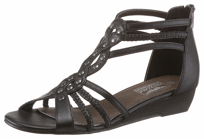 Arizona Sandalette, mit angesagten Nieten kaufen  schwarz