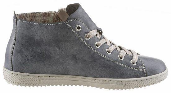 Rieker Sneaker, im modernen Used-Look