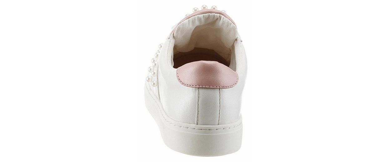 Arizona Sneaker, mit Schmuckperlen verziert