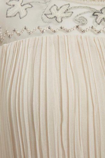 Cream Longbluse Angolie