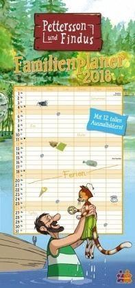 Kalender »Pettersson und Findus Familienplaner 2018«