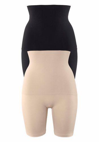 Damen Petite Fleur Bodyforming-Pants (2 Stück) Seamless bunt,mehrfarbig   05605877008712