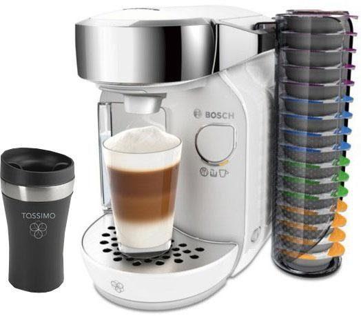 BOSCH Kapselmaschine TASSIMO CADDY TAS7004, inkl. 1 Travel Mug im Wert von 10 € UVP