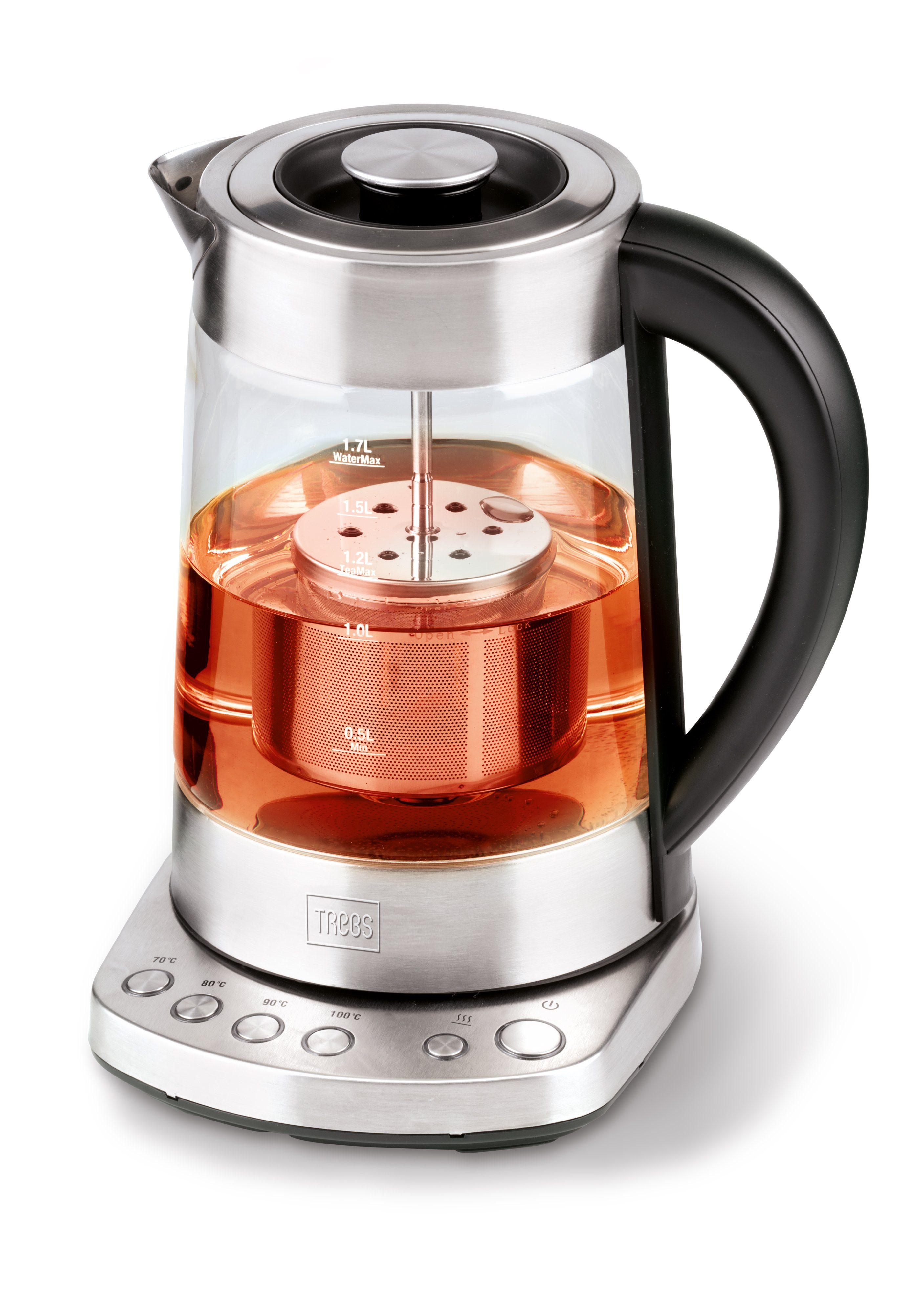Trebs 2 in 1 Wasserkocher und Teebereiter mit Temperatureinstellung »99270«