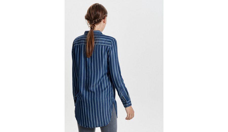 Only Lockere Langarmhemd Kaufen Sie Günstig Online Einkaufen Zum Verkauf 2018 Rabatt 100% Original Mx2dSP