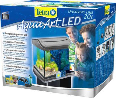 tetra aquarium aquaart led discovery line 20 l anthrazit online kaufen otto. Black Bedroom Furniture Sets. Home Design Ideas