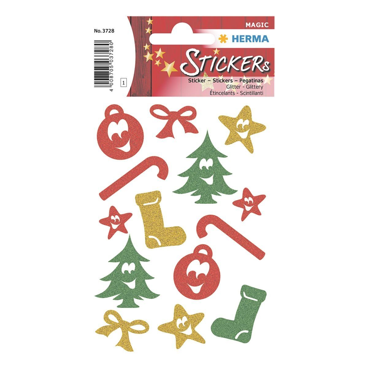 Herma Weihnachts-Sticker »Magic Symbole«
