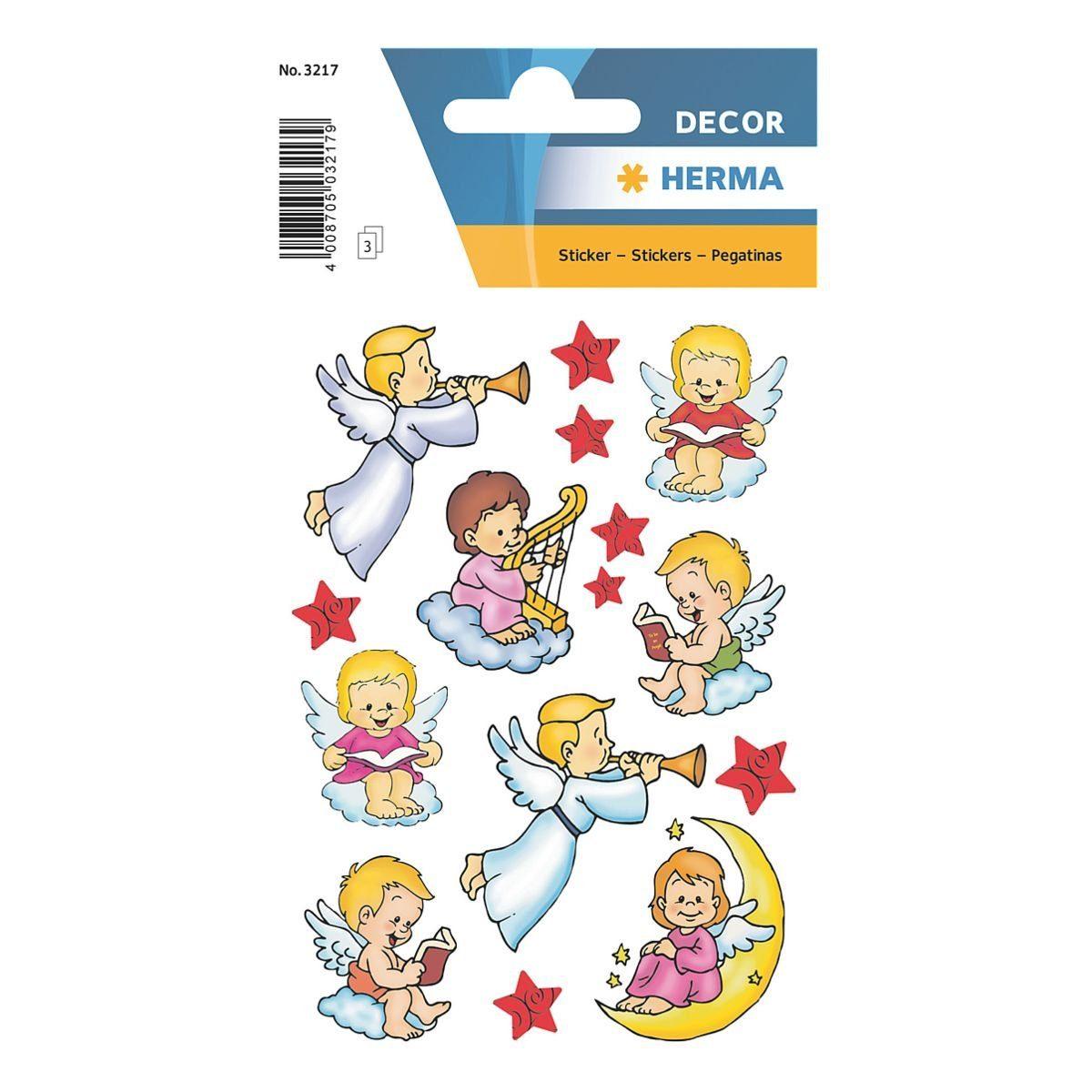 Herma Weihnachts-Sticker »Decor Engel«
