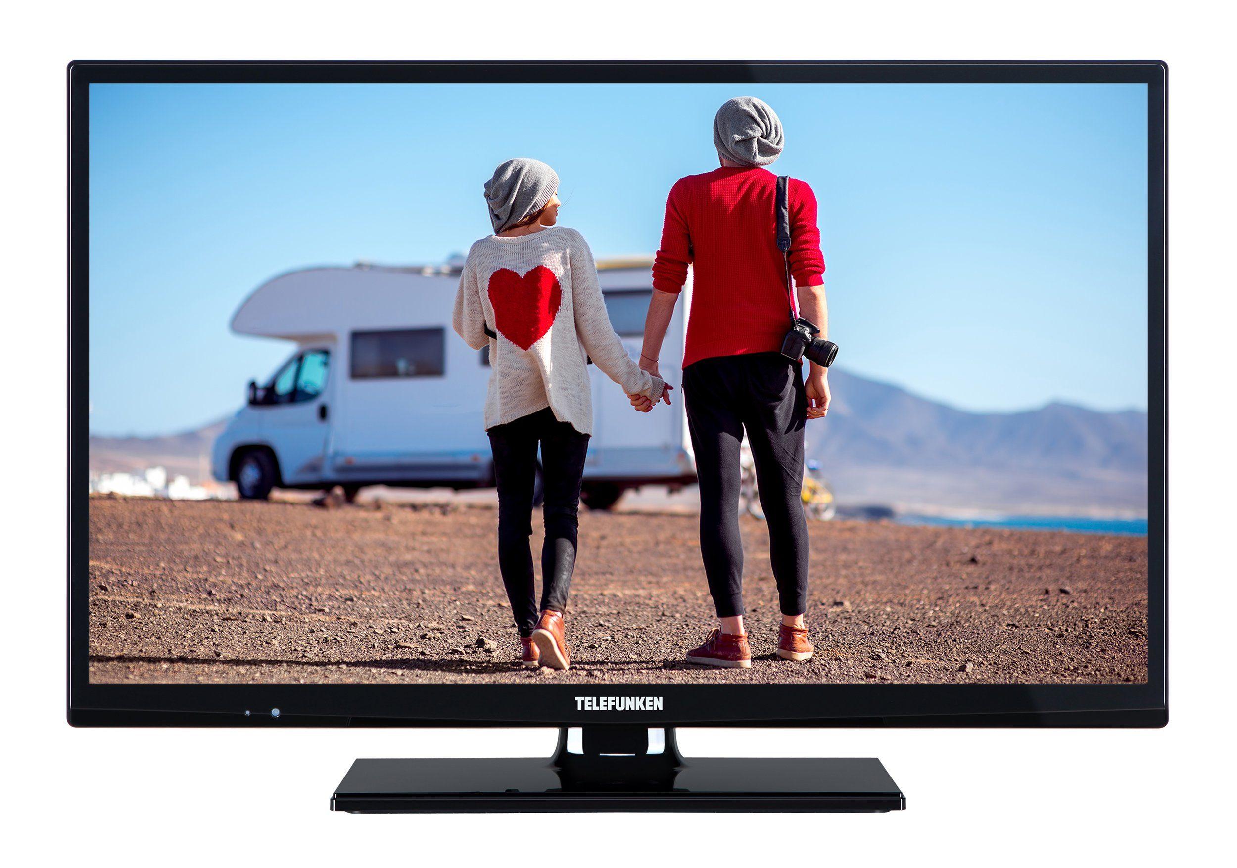 Telefunken LED-Fernseher (24 Zoll, HD-Ready, DVB-T2 HD, 12V) »XH24D101V«