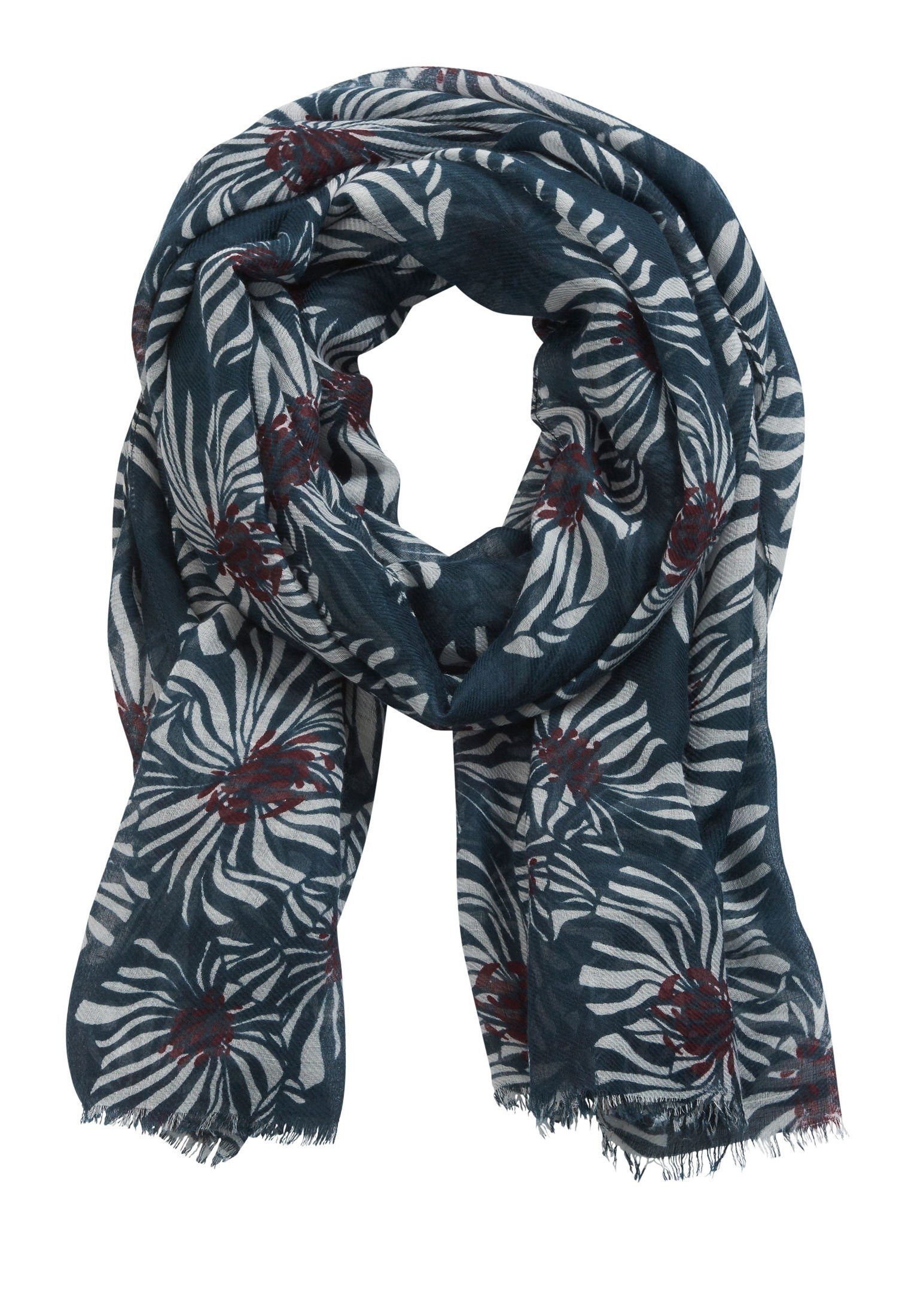 Betty&Co Schal mit floralem Allover Muster