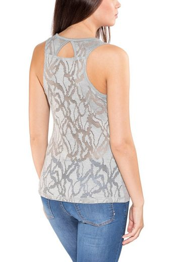 Columbia Tanktop Peak to Point Novelty Tank Women grey