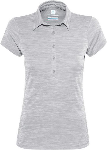 Columbia T-Shirt Zero Rules II Polo Women grey heather