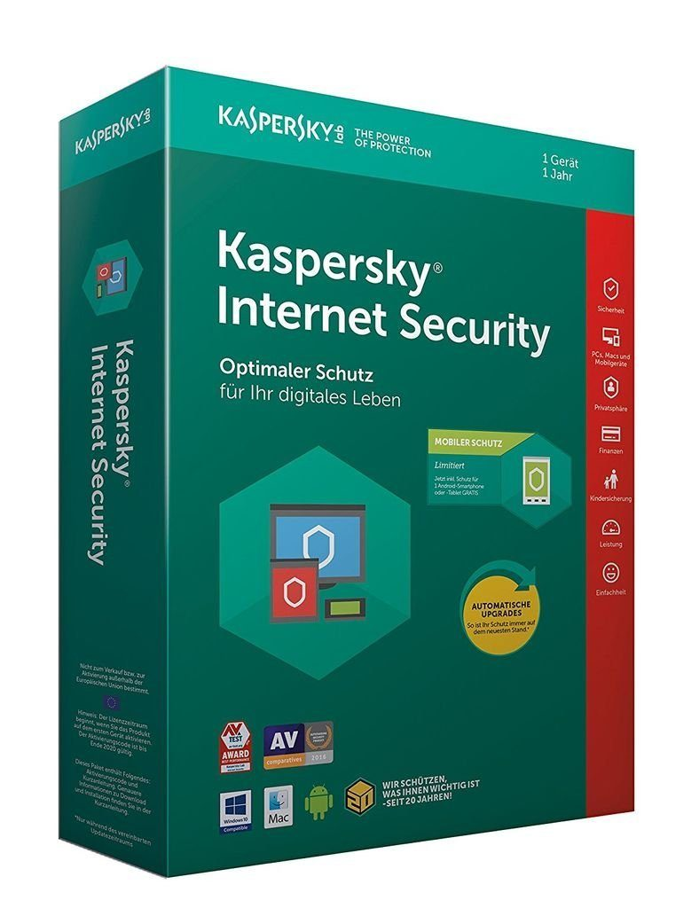 Kaspersky Software »Kaspersky Internet Security + Android Sec. (CIAB)«