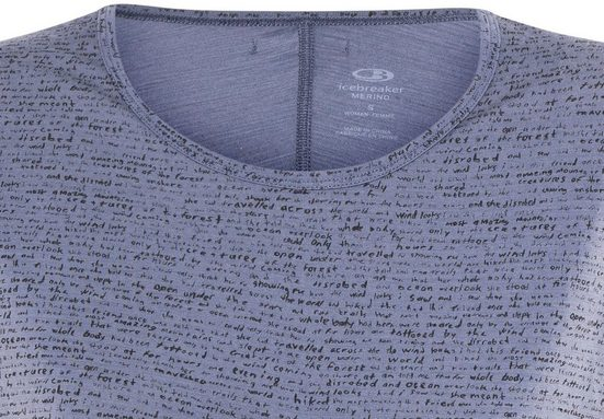 Icebreaker T-shirt Aria Tunic Women