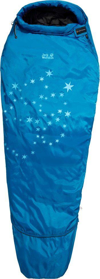 Jack Wolfskin Schlafsack »Grow Up Star Sleeping Bag Kids electric blue«