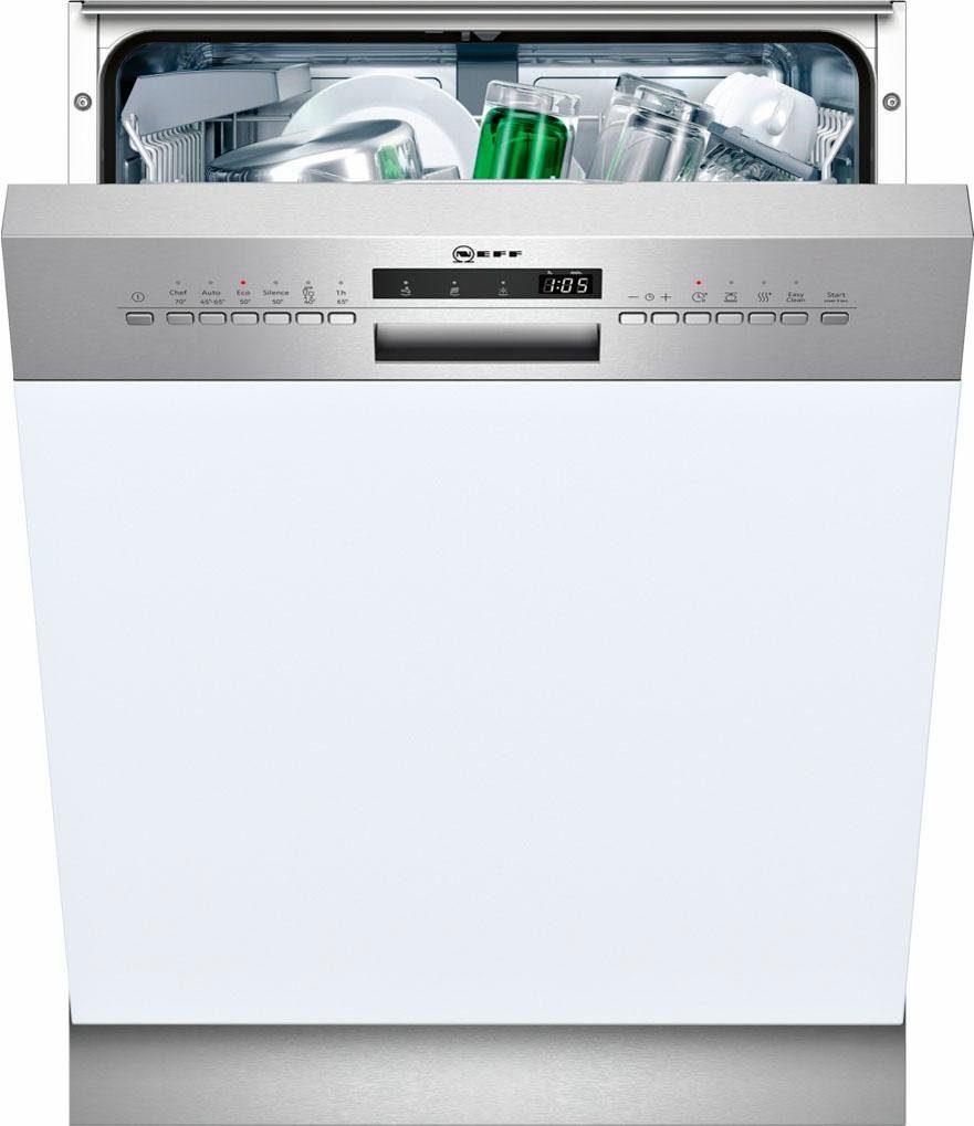 NEFF teilintegrierbarer Geschirrspüler Serie 4, GI4600CN / S413C60S0E, 9,5 l, 13 Maßgedecke